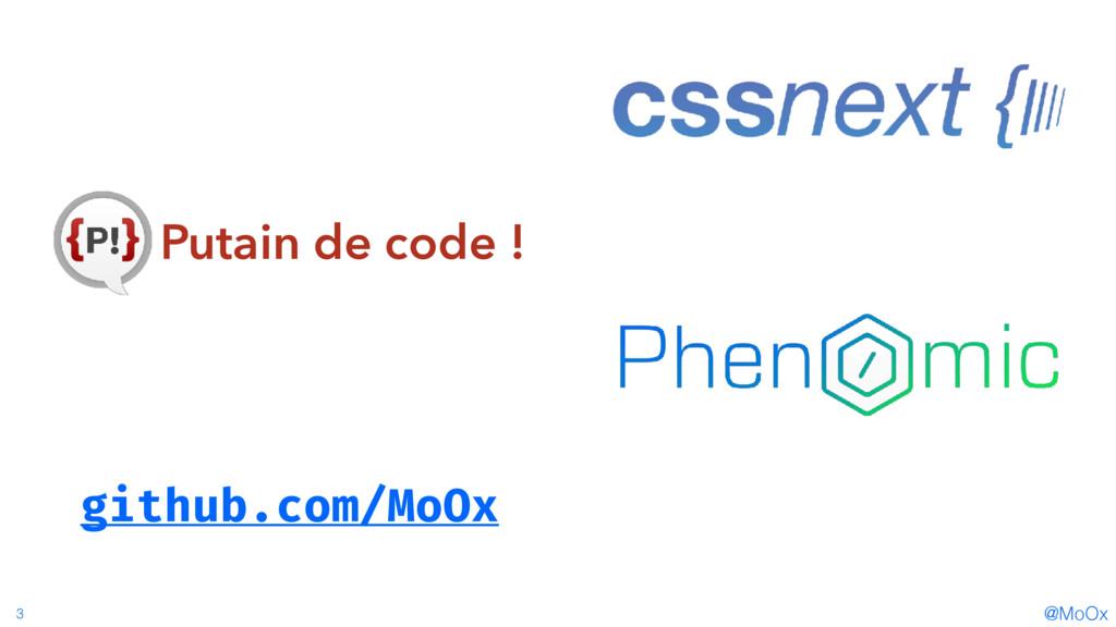 @MoOx 3 Putain de code ! github.com/MoOx