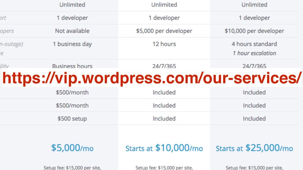 @MoOx 21 https://vip.wordpress.com/our-services/