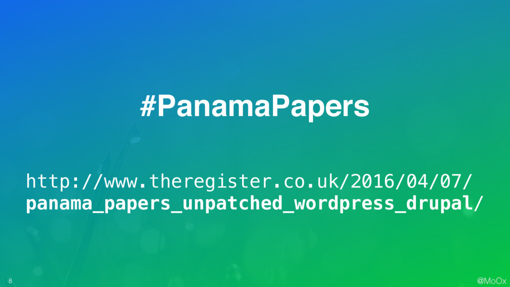 @MoOx 8 #PanamaPapers http://www.theregister.co...