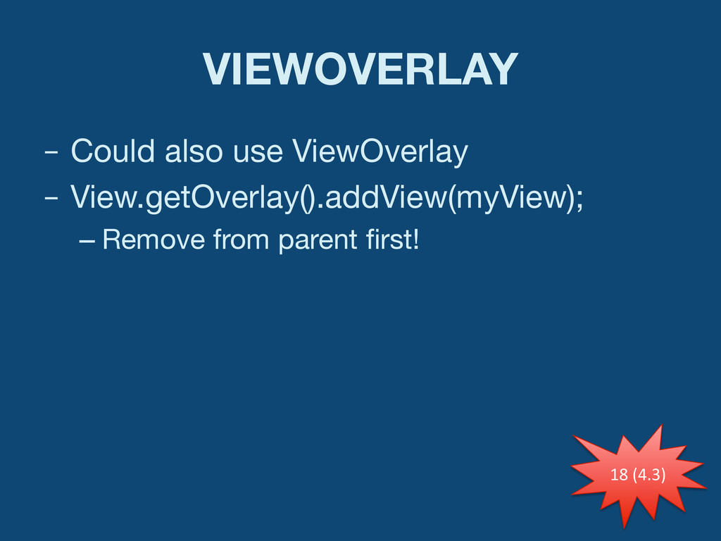 VIEWOVERLAY