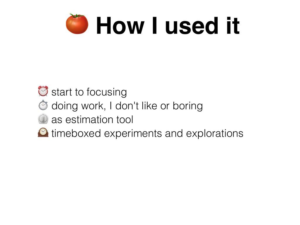 ⏰ start to focusing ⏱ doing work, I don't like ...