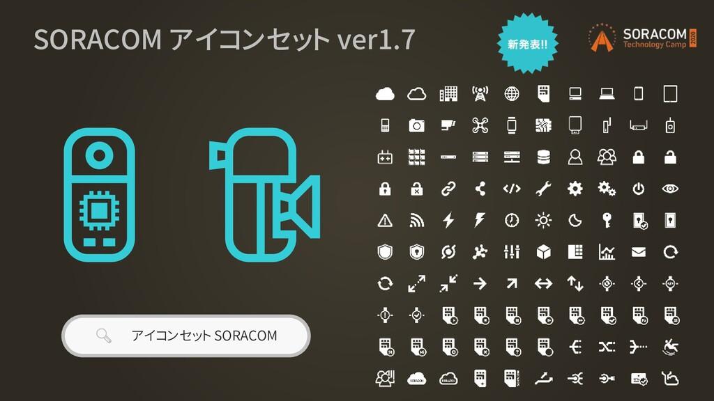 SORACOM アイコンセット ver1.7  アイコンセット SORACOM
