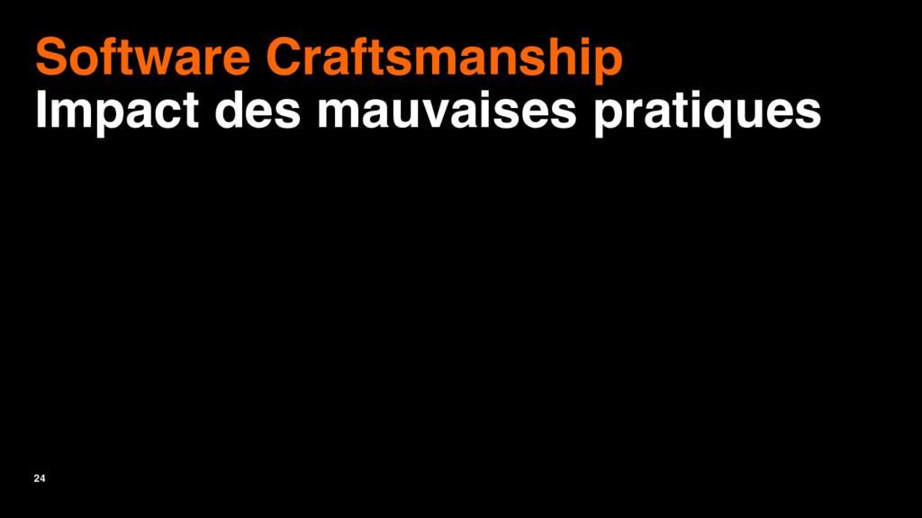24 Software Craftsmanship Impact des mauvaises ...