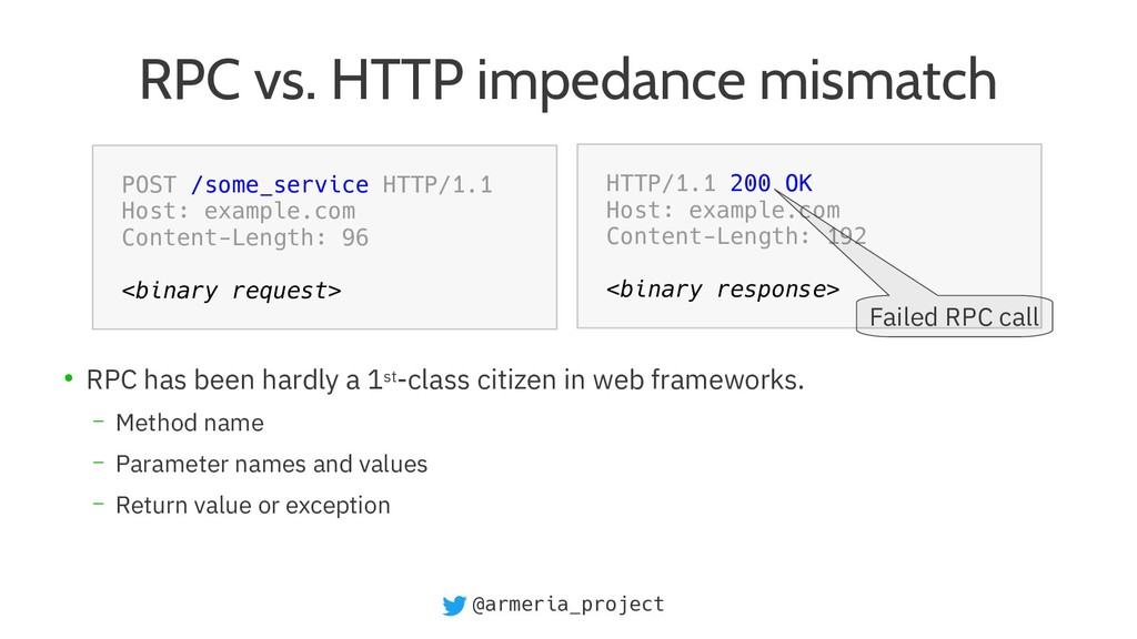@armeria_project RPC vs. HTTP impedance mismatc...