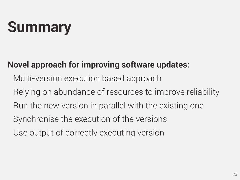 Novel approach for improving software updates: ...