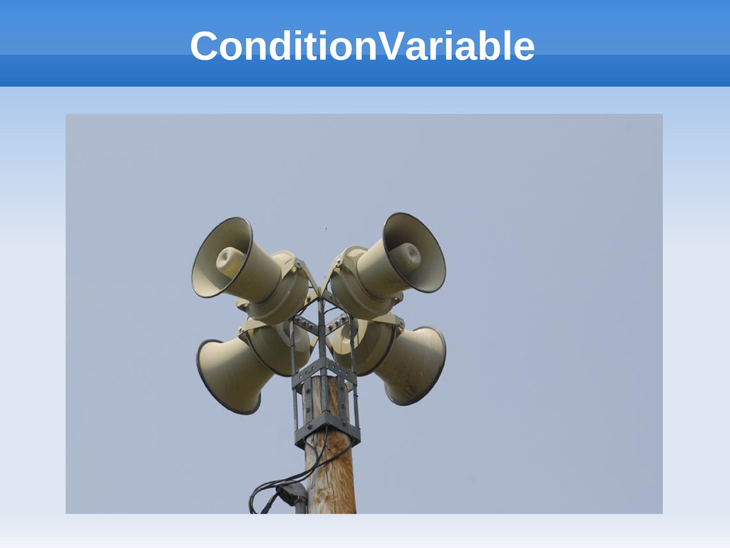 ConditionVariable