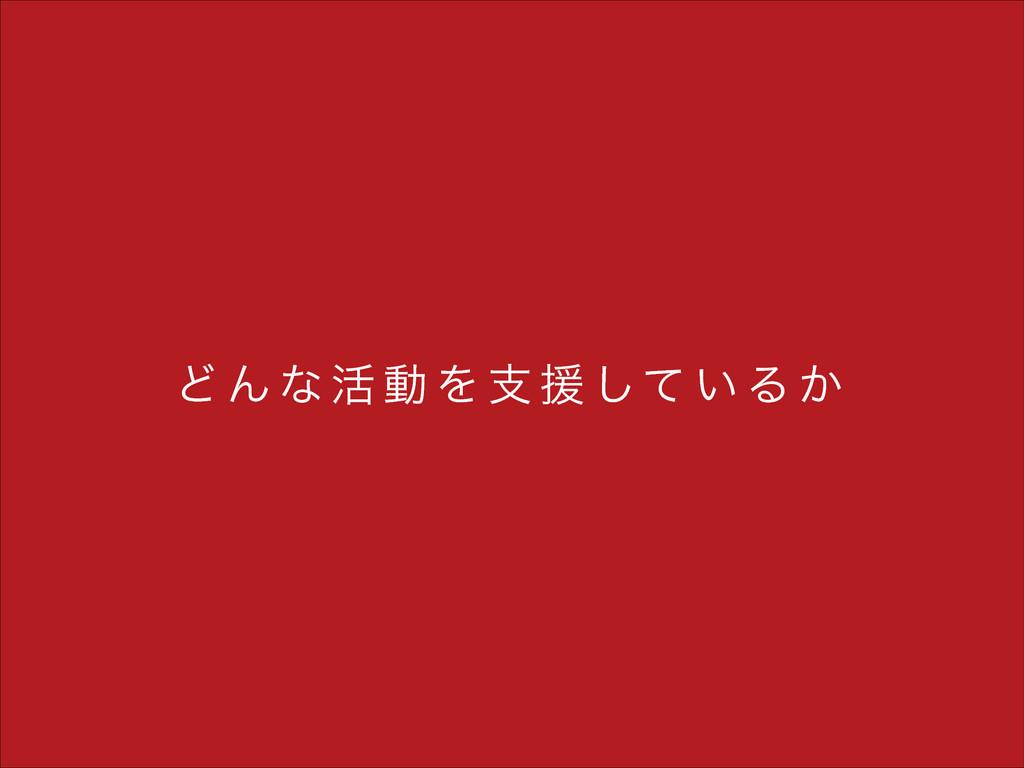 Ͳ Μ ͳ ׆ ಈ Λ ࢧ ԉ ͯ͠ ͍ Δ ͔