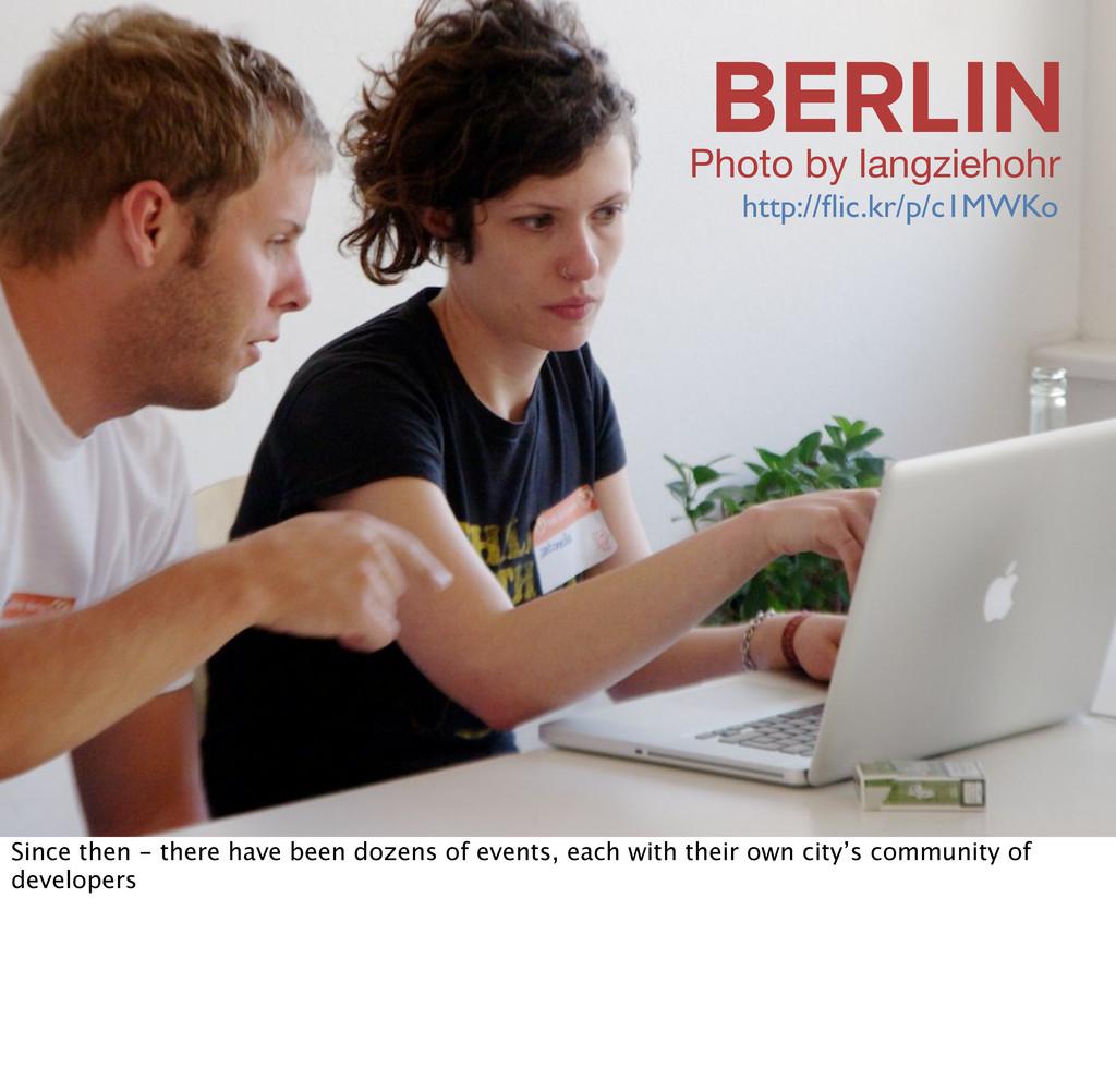 BERLIN Photo by langziehohr http://flic.kr/p/c1M...