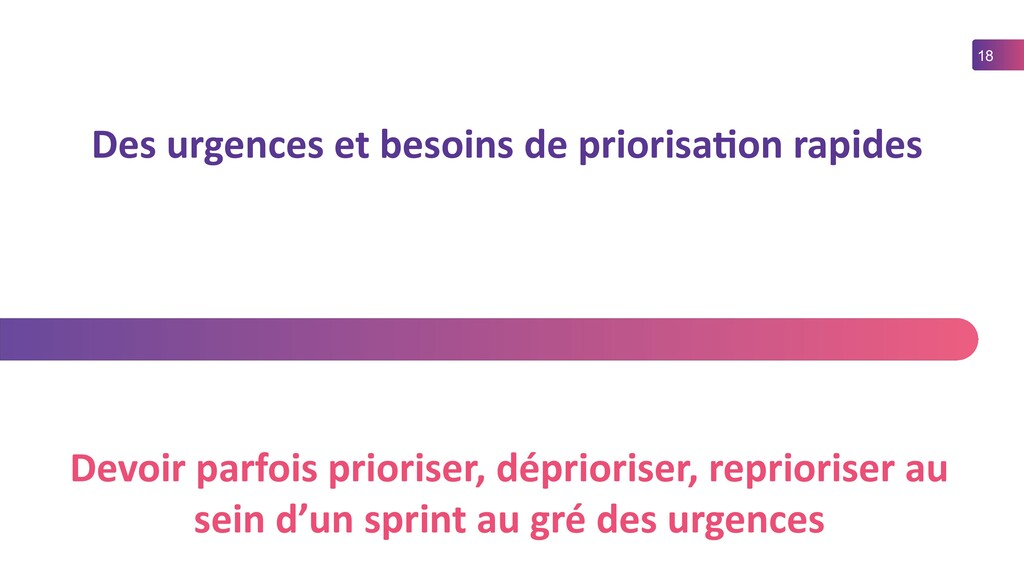18 Des urgences et besoins de priorisation rapi...