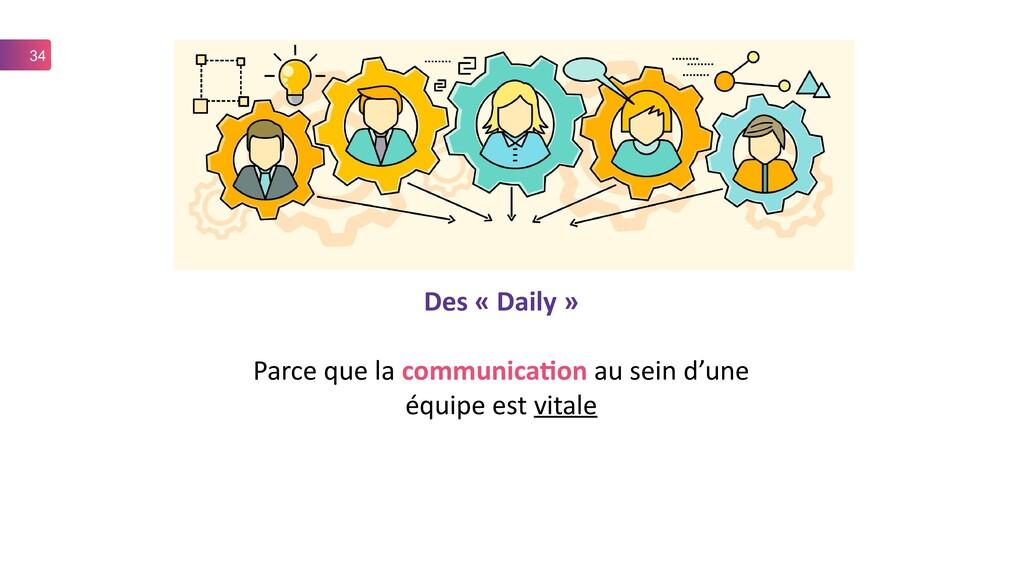 34 Des « Daily » Parce que la communication au ...
