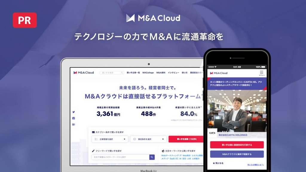 Copyright © M&A Cloud All rights reserved. 3 PR