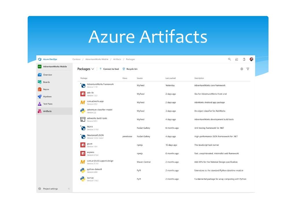 Azure Artifacts