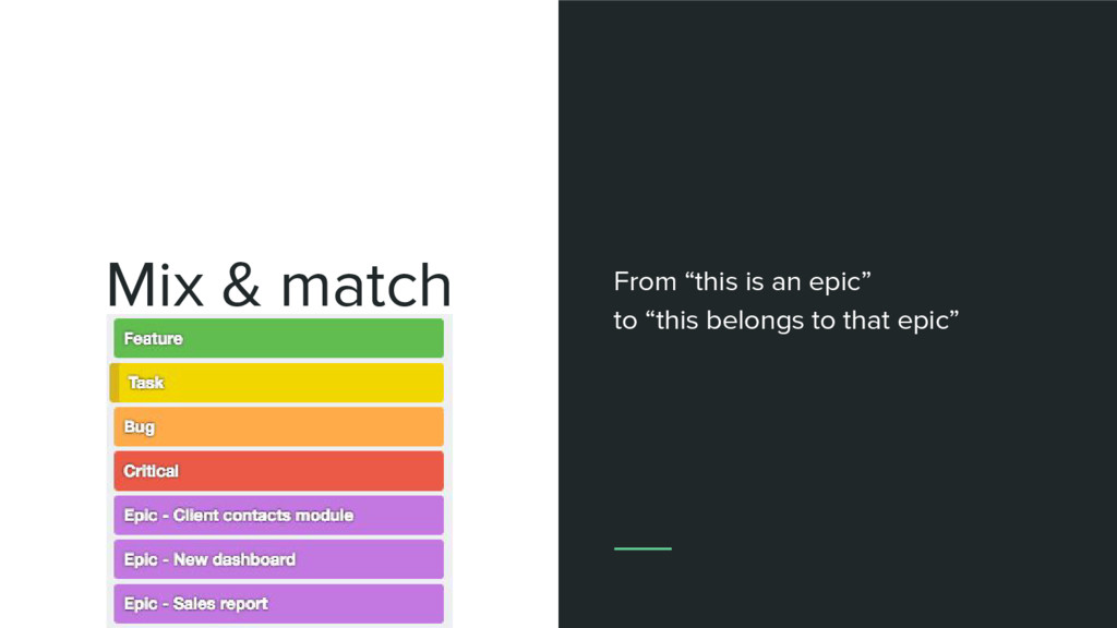 """Mix & match Type + theme From """"this is an epic""""..."""