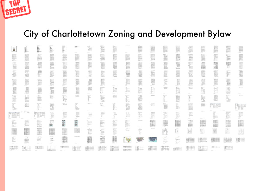 City of Charlottetown Zoning and Development By...