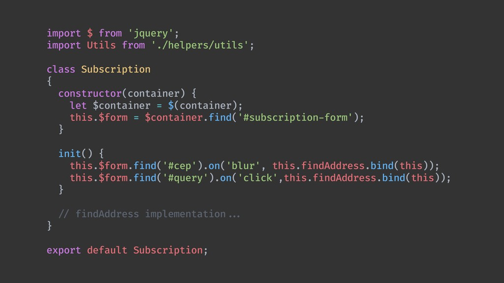 import $ from 'jquery'; import Utils from './he...