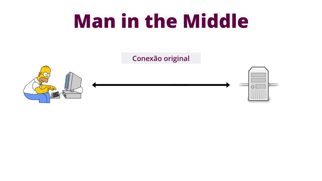 Conexão original Man in the Middle