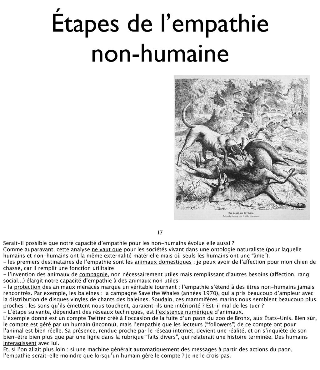 17 Étapes de l'empathie non-humaine Serait-il p...
