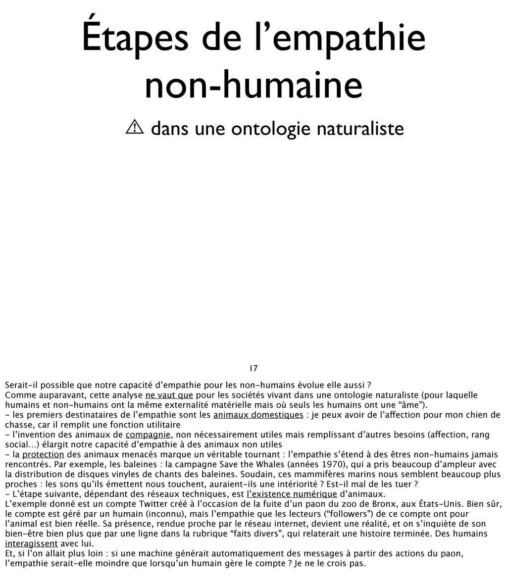 17 Étapes de l'empathie non-humaine ⾠ dans une ...