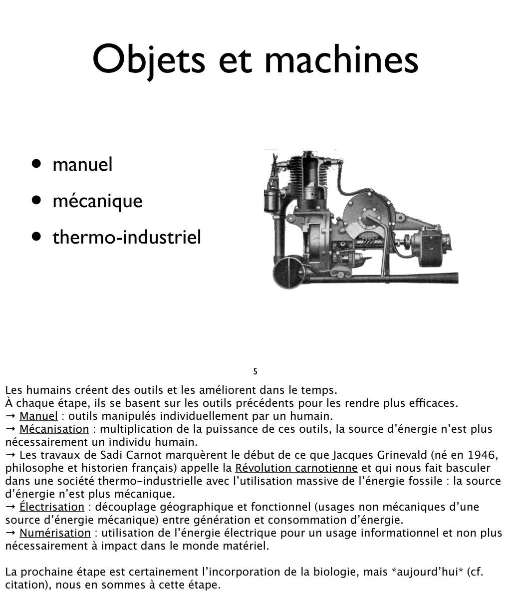 • manuel • mécanique • thermo-industriel Objets...