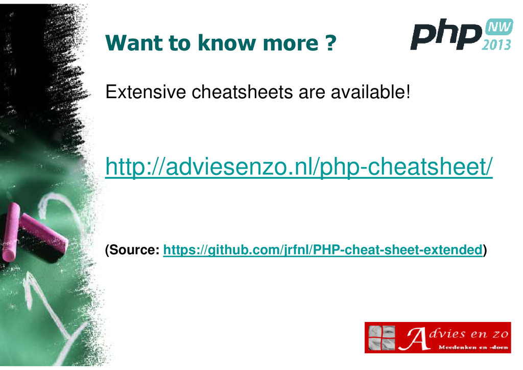 Want to know more ? Extensive cheatsheets are a...