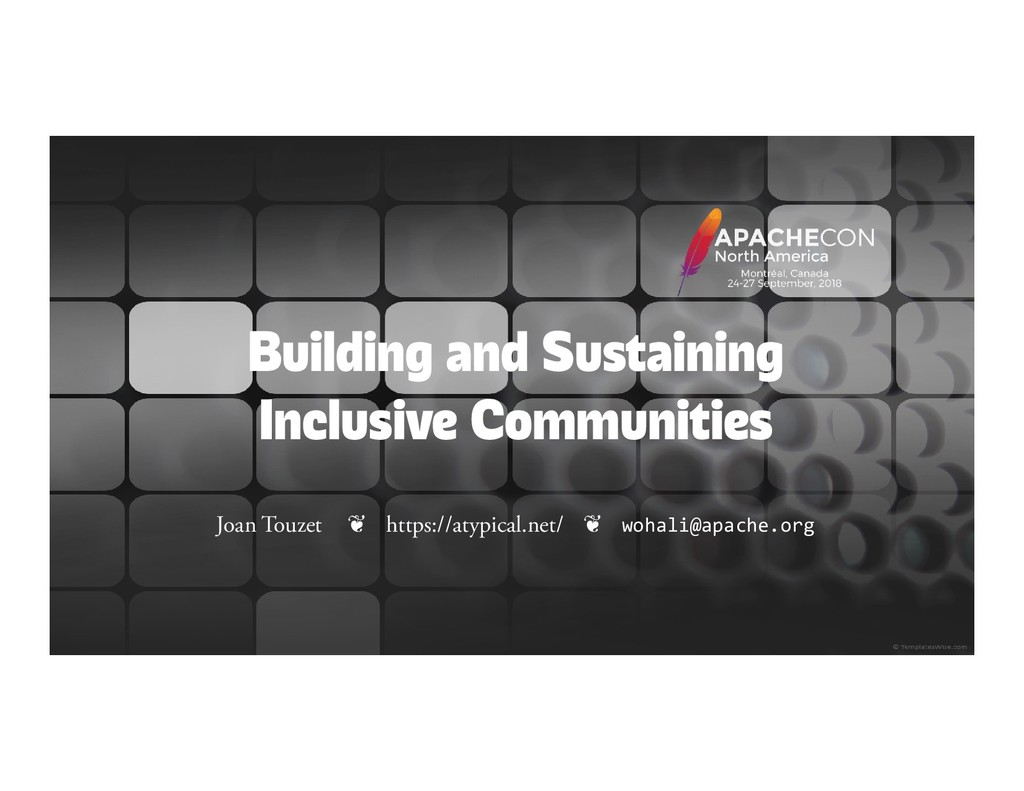 Building and Sustaining Inclusive Communities J...