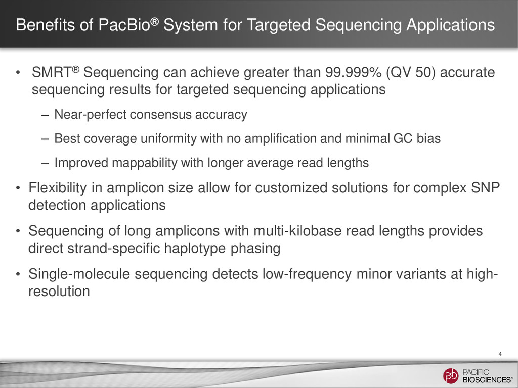Benefits of PacBio® System for Targeted Sequenc...