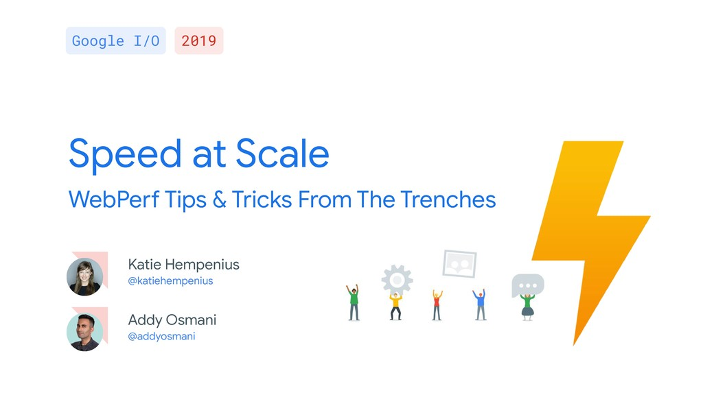 Speed at Scale WebPerf Tips & Tricks From The T...