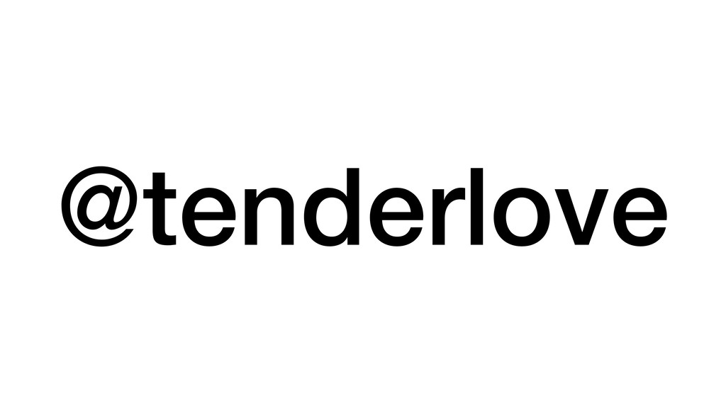 @tenderlove