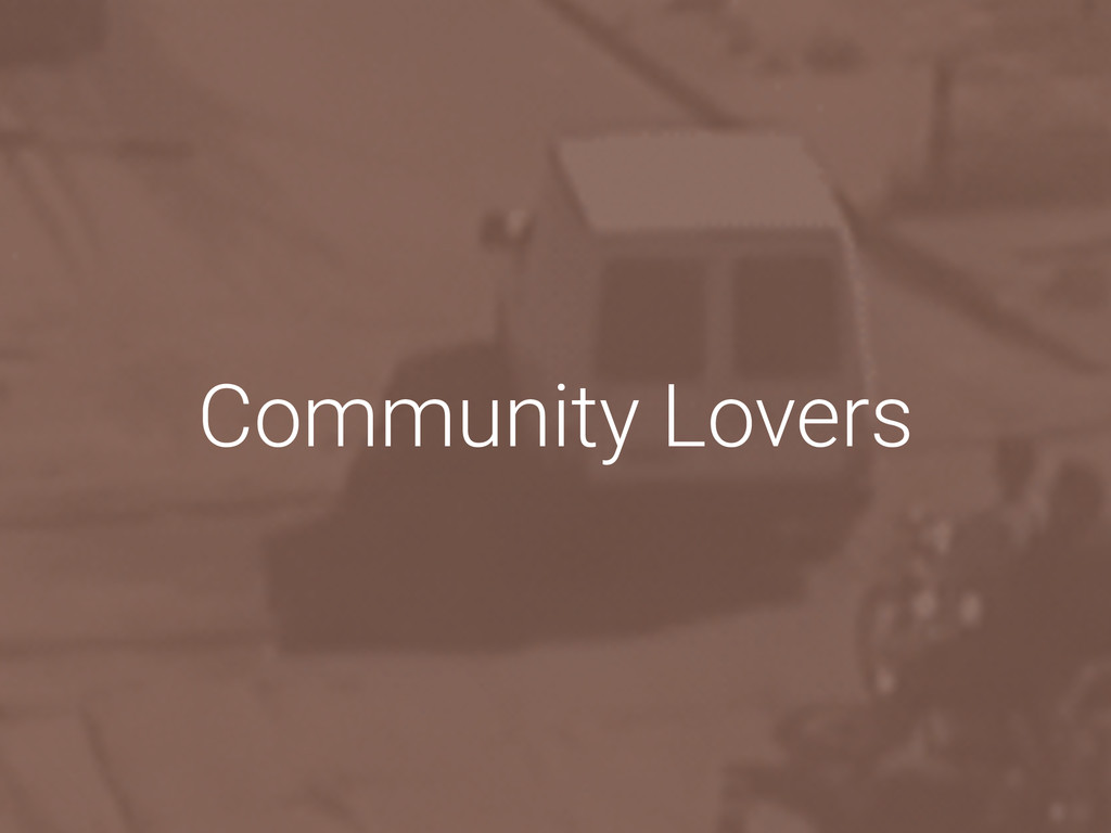 Community Lovers