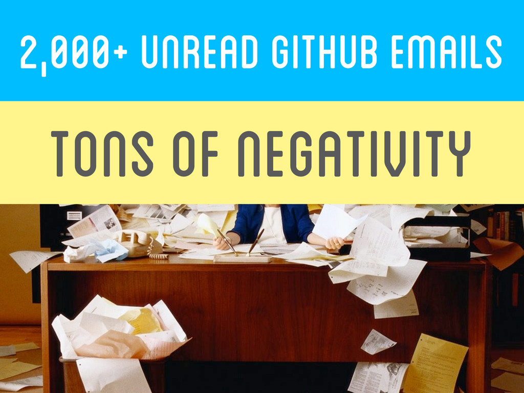 2,000+ UNREAD GITHUB EMAILs  TONS OF NEG...
