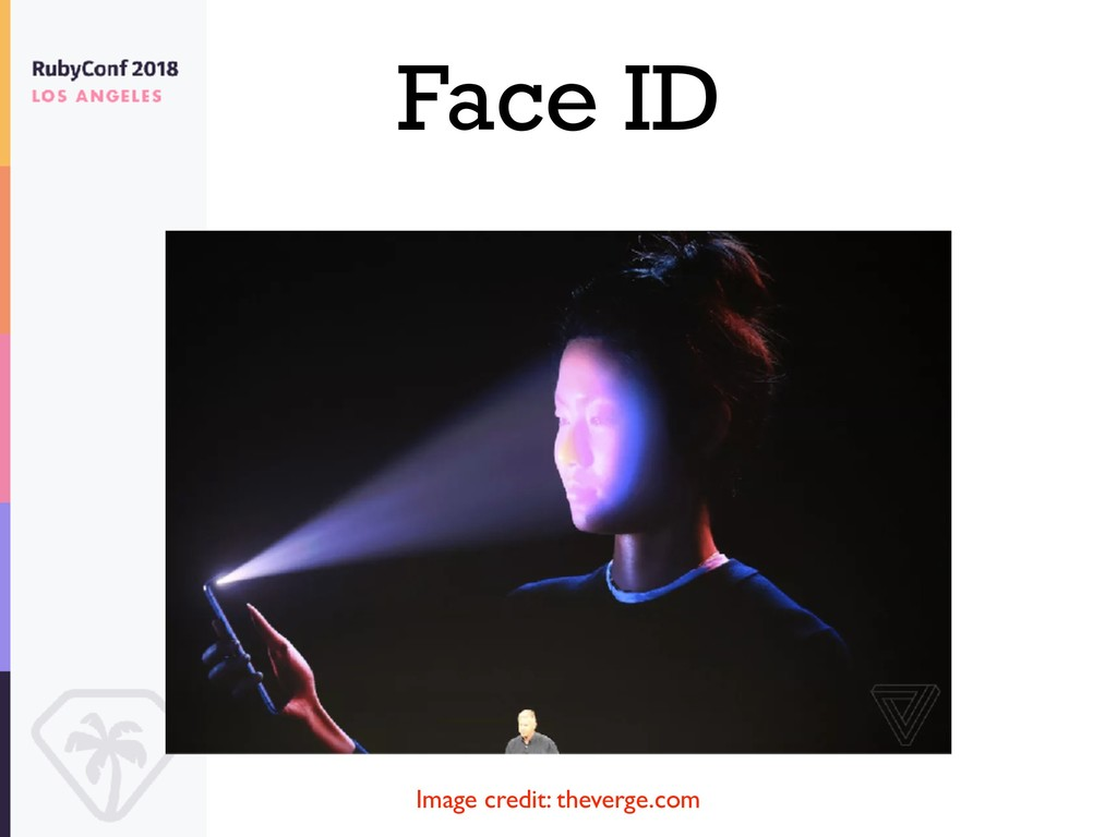 Face ID Image credit: theverge.com