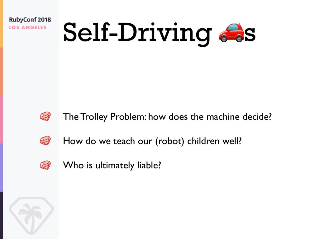 Self-Driving s The Trolley Problem: how does th...