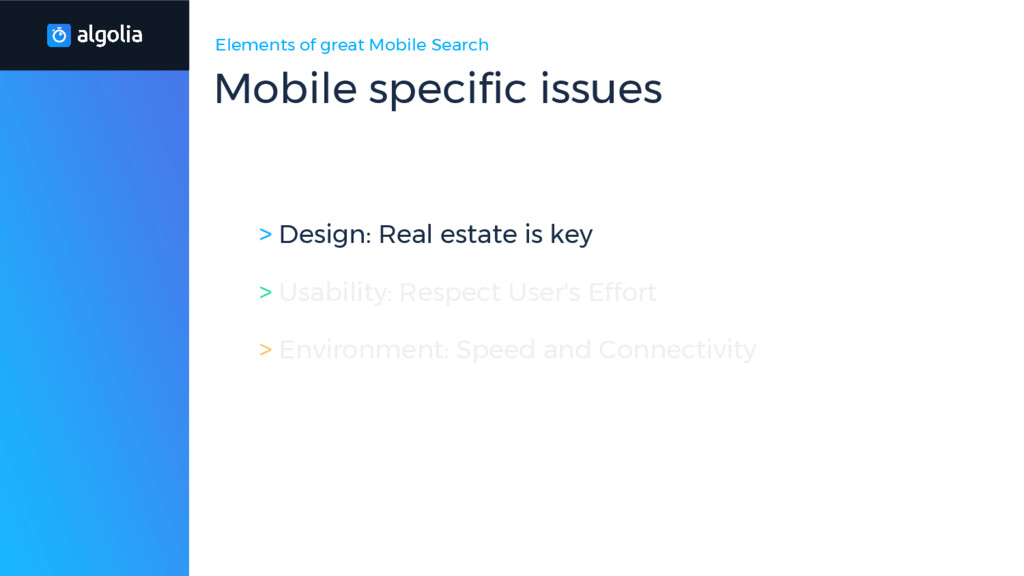 Elements of great Mobile Search > Design: Real ...