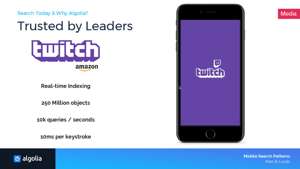 Search Today & Why Algolia? Trusted by Leaders ...