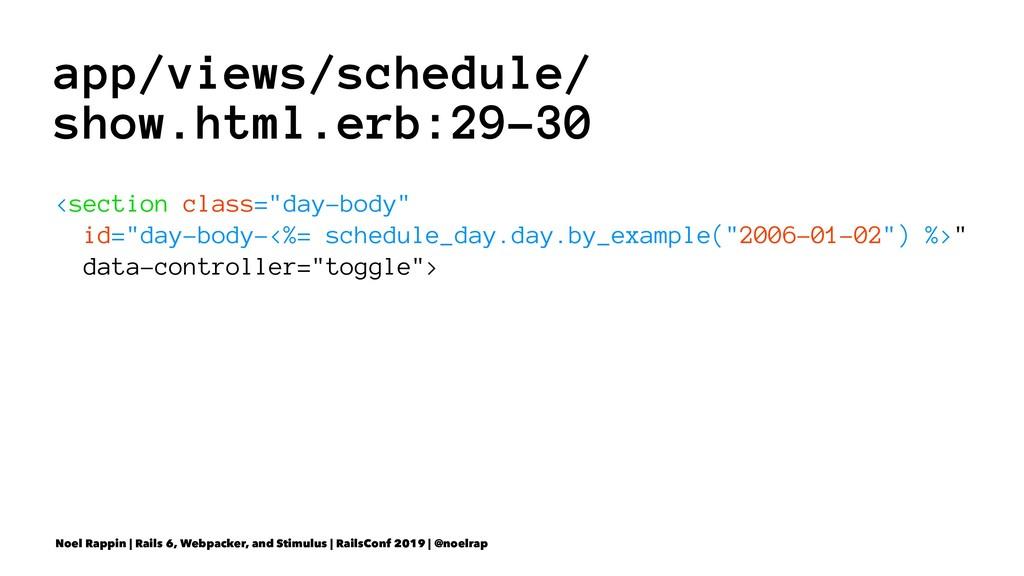 app/views/schedule/ show.html.erb:29-30 <sectio...