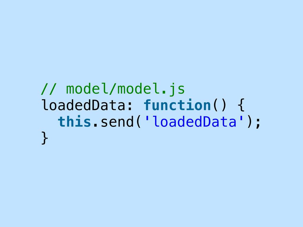 // model/model.js loadedData: function() { this...