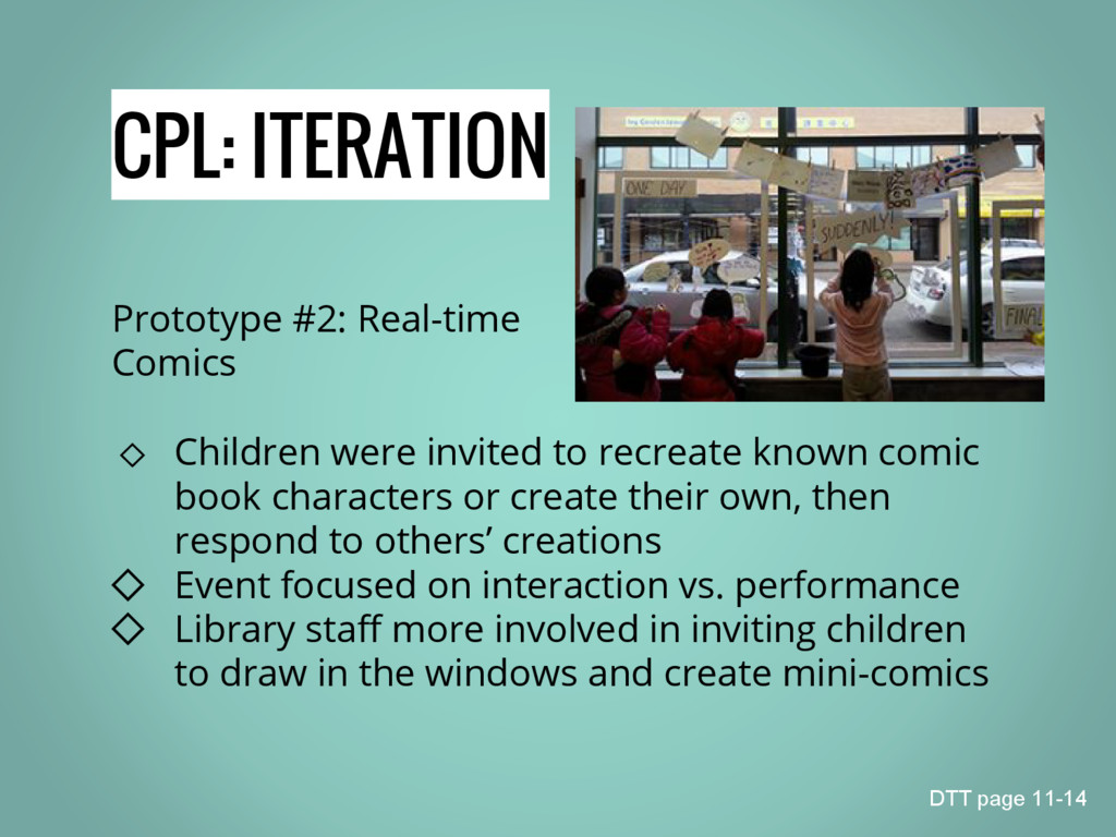 CPL: ITERATION Prototype #2: Real-time Comics ◇...