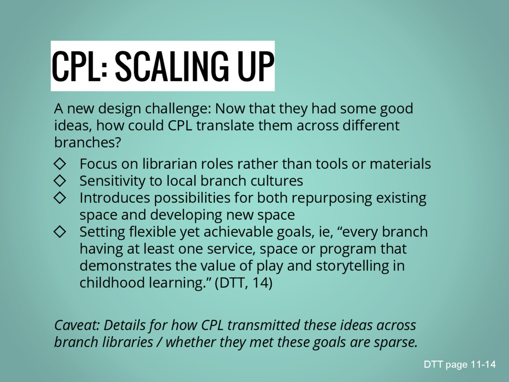 CPL: SCALING UP A new design challenge: Now tha...