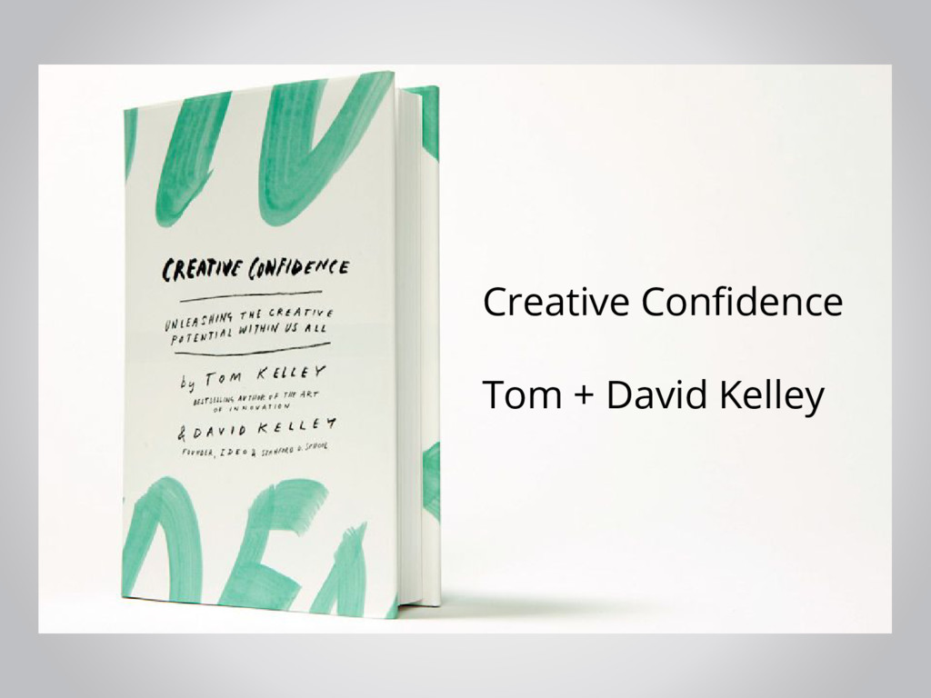 Creative Confidence Tom + David Kelley