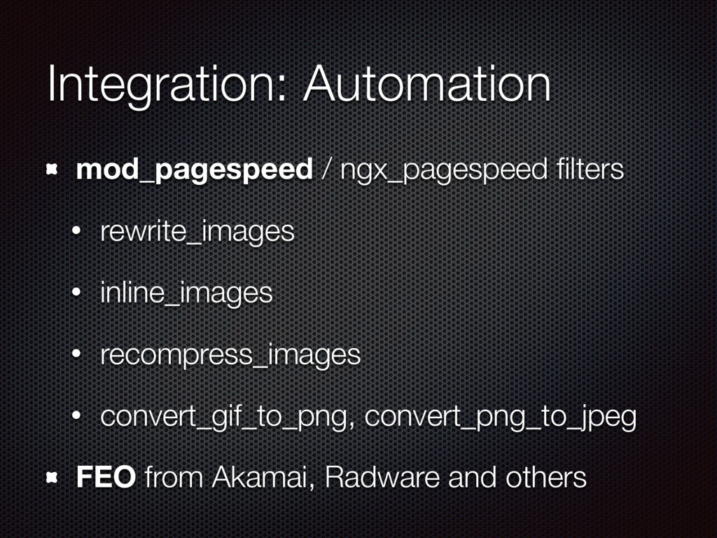 Integration: Automation mod_pagespeed / ngx_pag...
