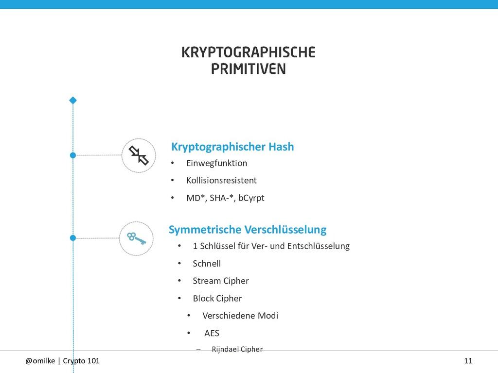 11 @omilke | Crypto 101 Symmetrische Verschlüss...