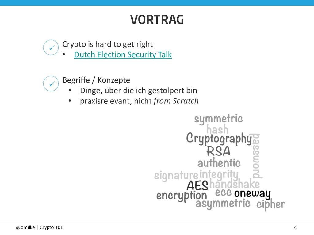 4 @omilke | Crypto 101 Begriffe / Konzepte • Di...