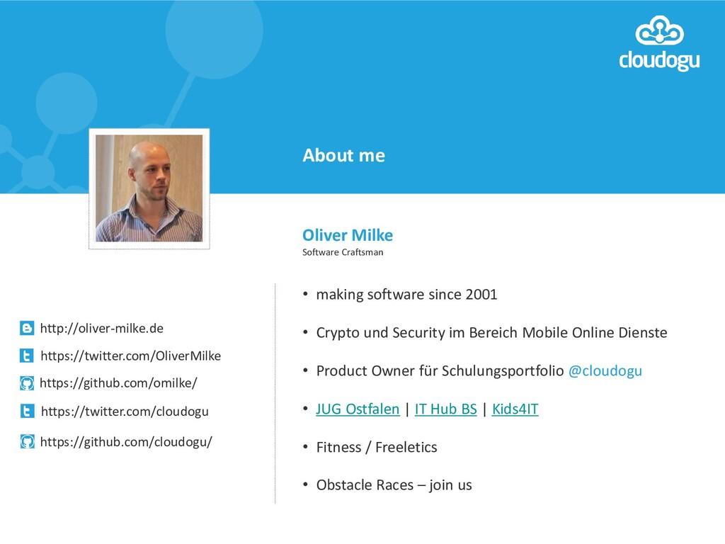 • making software since 2001 • Crypto und Secur...