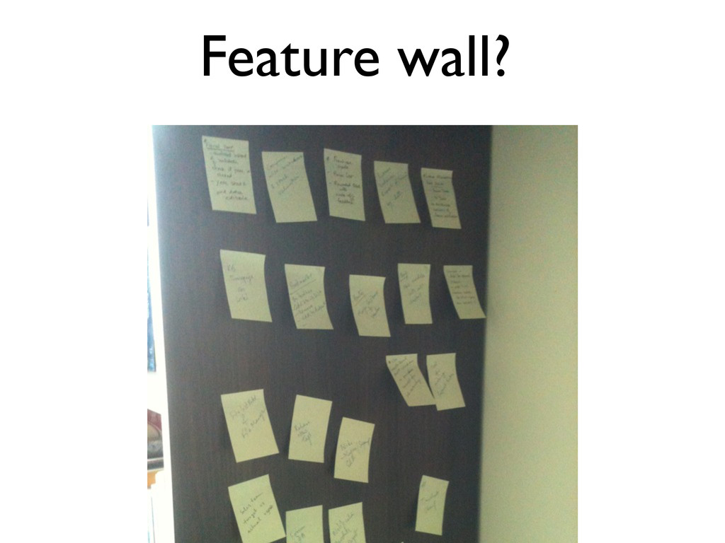 Feature wall?
