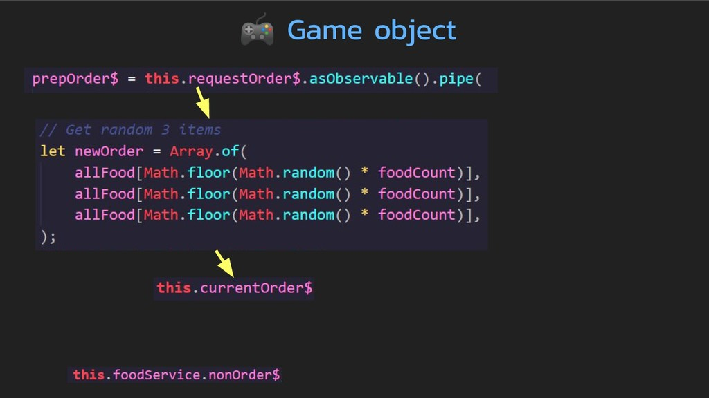 Game object
