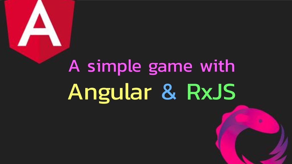 A simple game with Angular & RxJS