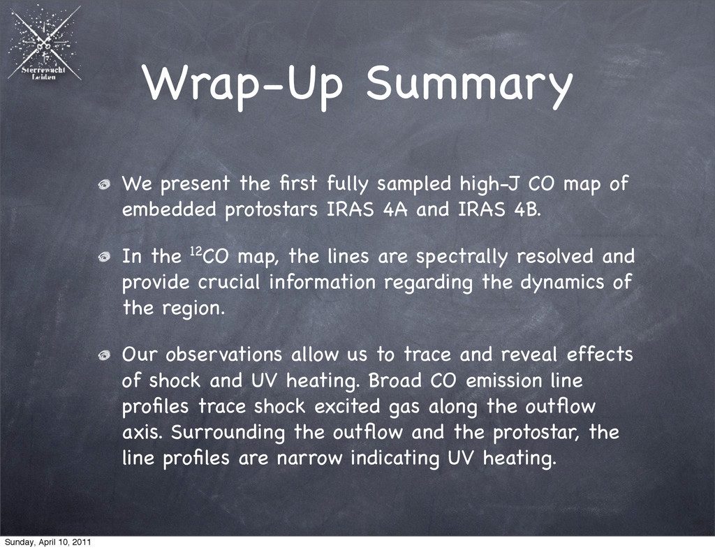Wrap-Up Summary We present the first fully sampl...