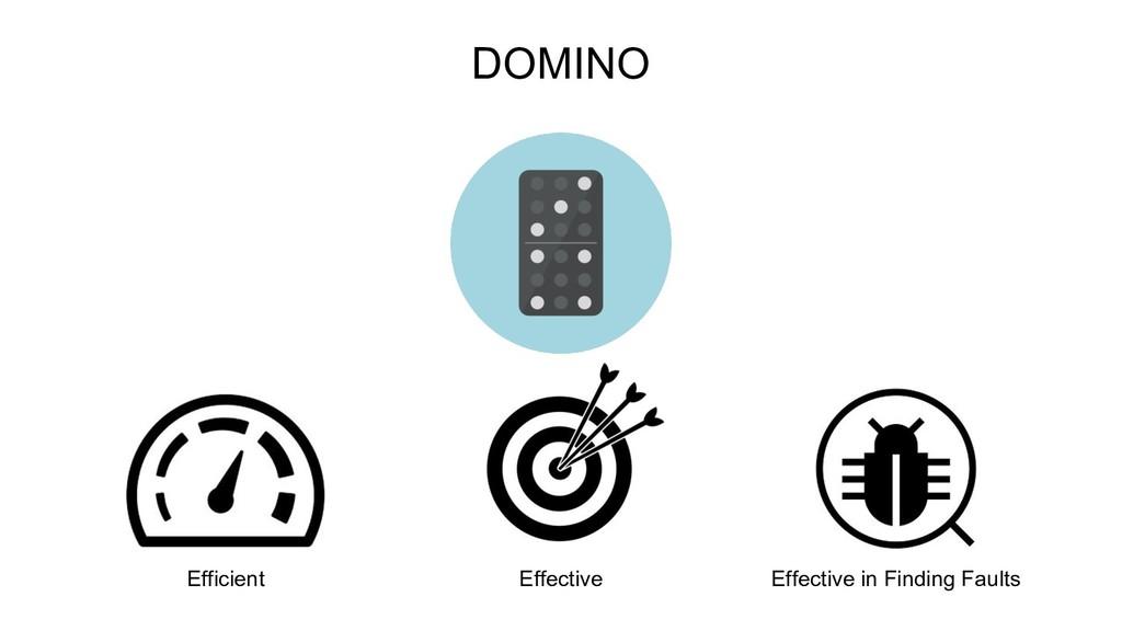 DOMINO Efficient Effective Effective in Finding...