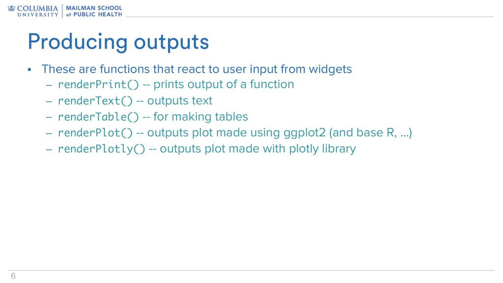 6 • These are functions that react to user inpu...