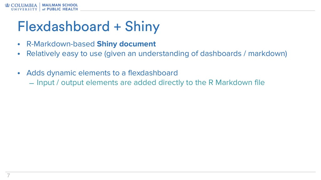 7 • R-Markdown-based Shiny document • Relativel...